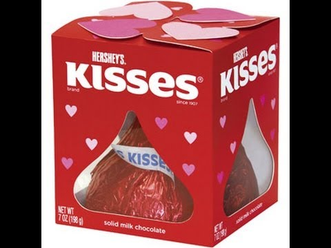 HERSHEY´S KISSES SOLID MILK CHOCOLATE GIANT KISS VALENTINES CANDY   YouTube
