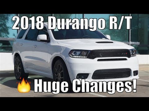 Review: 2018 Dodge Durango R/T. POV, 0-60 | RT Gets New Styling! Best 3-Row SUV?