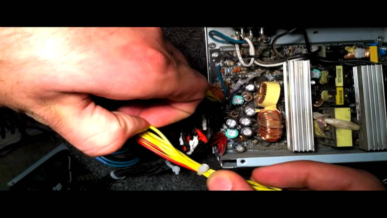 small resolution of power amp wiring