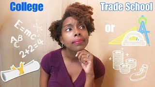 Let's Talk - Should Kids go to College right out of high school? What about Trade School?