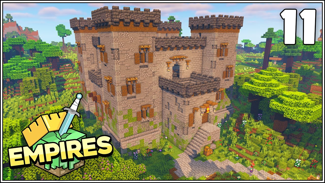Empires SMP - THE IRON FARM CASTLE!!! - Ep.11 [Minecraft 1.17 Let's Play]