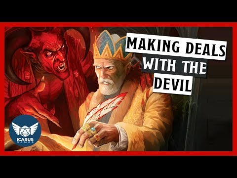 Using Devil Contracts in D&D and other RPGs | How to DM Ep. 23