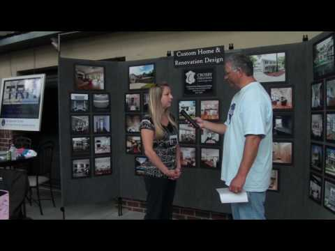 Crosby Creations Custom Home Design At The Charleston Home And Design Show  On Daniel Island