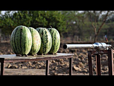 potato-cannon-vs-watermelon---experiment