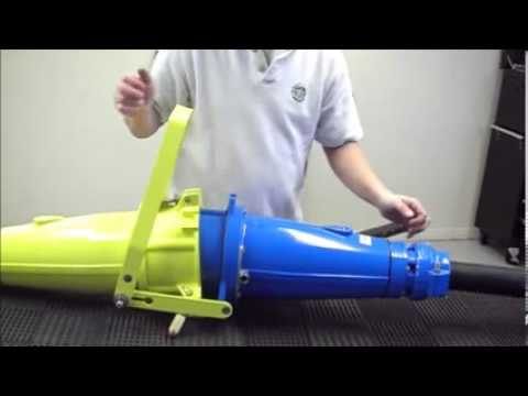 Trailing Cable Coupler Closing Tool Operation Youtube