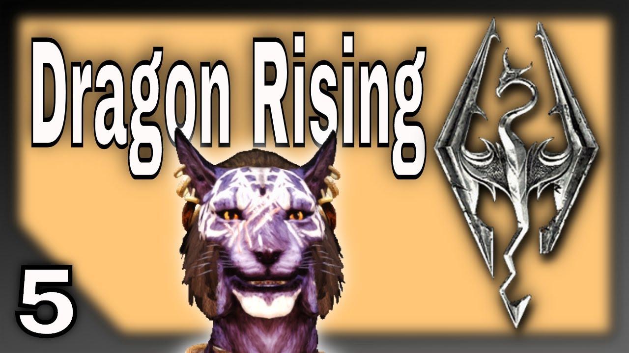 Dragon Rising - A Skyrim Adventure Movie with Inigo