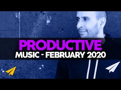 Productive Music Playlist | 1 Hour Mix | February 2020 | #EntVibes