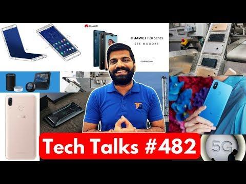 Tech Talks #482 - Apple Daisy, Folding Samsung, Asus Max Pro M1, Google Grasshopper, Mi7, G7 ThinQ