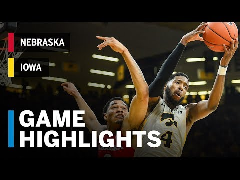 Highlights: Nebraska at Iowa | Big Ten Basketball