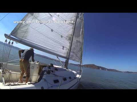 Trogear Aftermarket Bowsprit- from Headsail to Code0
