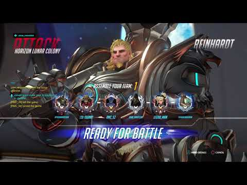 Overwatch- 2 toxic raging annoying tryhard kids