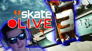 Skate 3 - Tricklining And Streaming! (Xbox 360 and One) 4,000 Subscriber Live Stream!