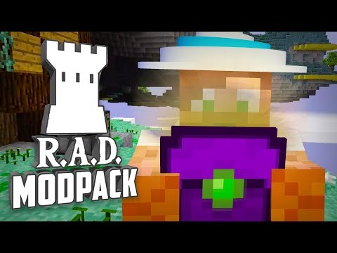 VAD FINNS I LÅDAN?   R.A.D Modpack - #13