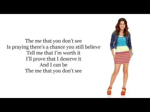 Laura Marano (Austin & Ally) - The Me That You Don't See Karaoke / Instrumental Cover