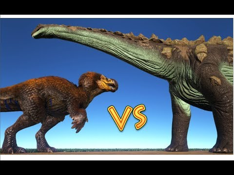 DodoRex vs Titanosaur || ARK: Survival Evolved || Cantex