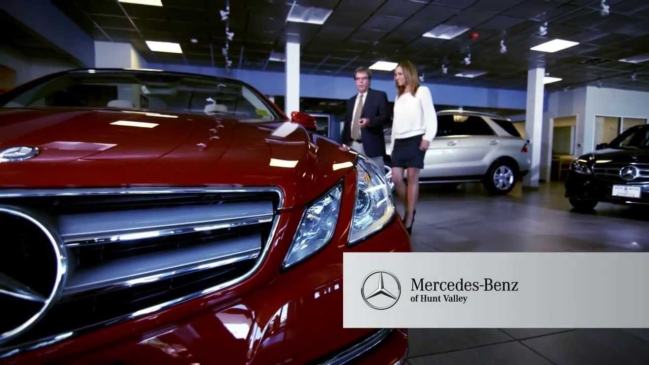 valley motors mercedes hunt valley maryland tv spot youtube