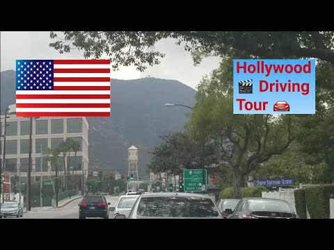 Los Angeles Driving Tour: African American Film Festival on Hollywood Blvd