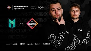 🔴 NEXUS VS POMPA - OMEN WGR EUROPEAN CHALLENGE QUALIFIER - BO1 - MAIN EVENT 15,000$