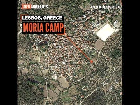 Life At The Moria Refugee Camp, Greece