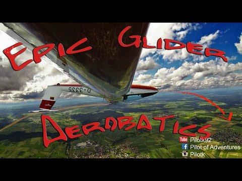 Glider Aerobatics on Pilatus B4