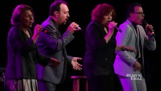 The Manhattan Transfer performs at the DoubleTree Hotel ballroom as...