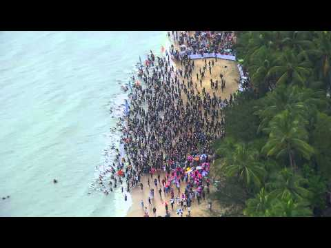 Cairns Airport IRONMAN Cairns // Ports North Swim Course Highlights