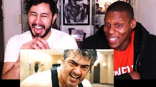 ajith masss transformation fight scene reaction w chris jai alex