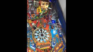 Williams Funhouse pinball playtest