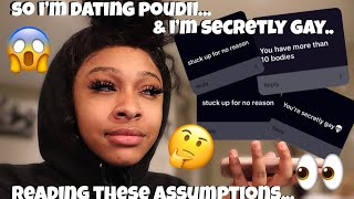 AM I DATING POUDII? READING PEOPLE'S ASSUMPTIONS ABOUT ME | UNICE