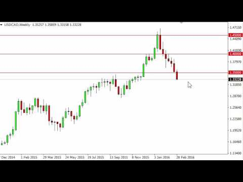 USD/CAD Forecast for the week of March 7 2016, Technical Analysis
