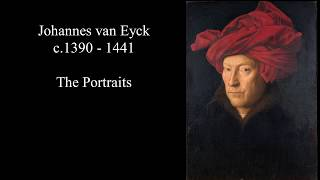 Jan van Eyck (1395-1441) - The Portraits 2K Ultra HD Silent Slideshow