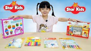 Đồ Chơi Thủ Công Tô Màu Star Kids 💎 AnAn ToysReview TV 💎