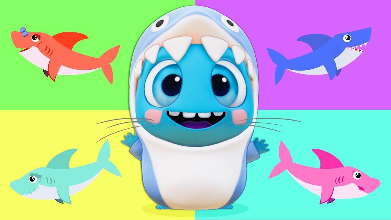 ?? ¡NUEVO! Baby Shark en español remix | Canciones infantiles en Español | Los Moonies