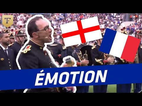 France - England : Stade de France sings Don't look back in anger (Oasis)