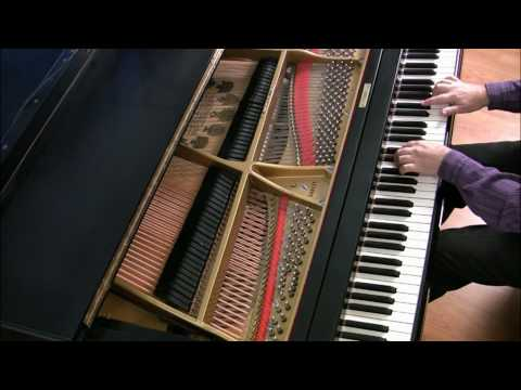 Bach: Invention 14 in Bb major (newer version) | Cory Hall, pianist-composer