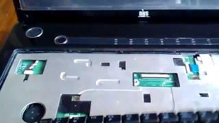 демонтаж / Монтаж клавиатуры ноутбука DNS