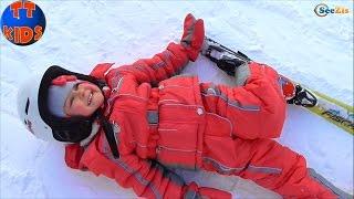 ✔ Ярослава укладывает спать куклу Беби Борн / Прогулка на лыжах в Буковеле / Holidays in Bukovel ✔