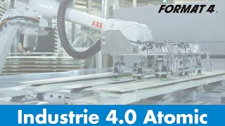 Format-4 Industrie 4.0 für Atomic Skis