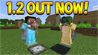 MINECRAFT 1.2 OUT NOW! - 1.2 UPDATE OFFICIAL RELEASE LET'S TEST (Better Together Update) thumbnail