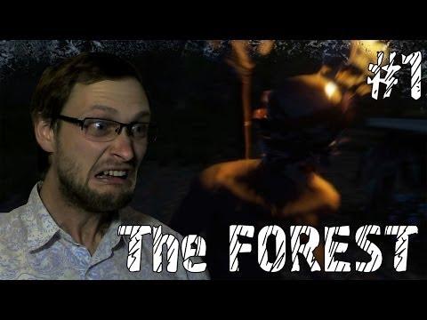 The Forest прохождение #1 Одни на острове?