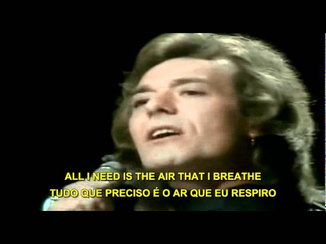 The Hollies - The air that I breathe ( Legendado )