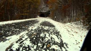 Snowy Specialized Fatboys Parkway Ride
