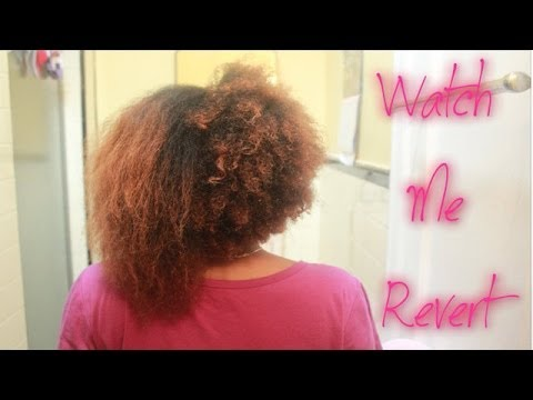 Natural hair reversion heat damage did my curls come back youtube solutioingenieria Choice Image