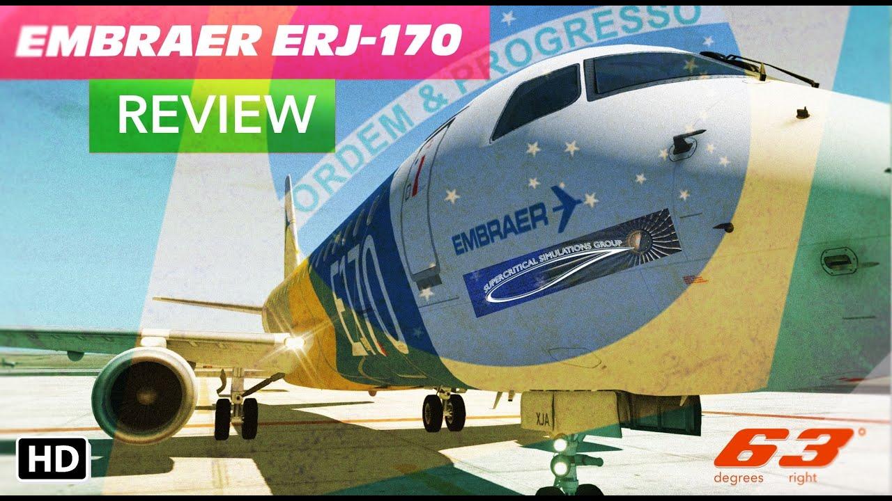Supercritical Simulations Group Em Er E 170 Review X Plane 10