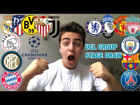 uefa champions league 20 21 group stage draw live reaction youtube uefa champions league 20 21 group stage draw live reaction
