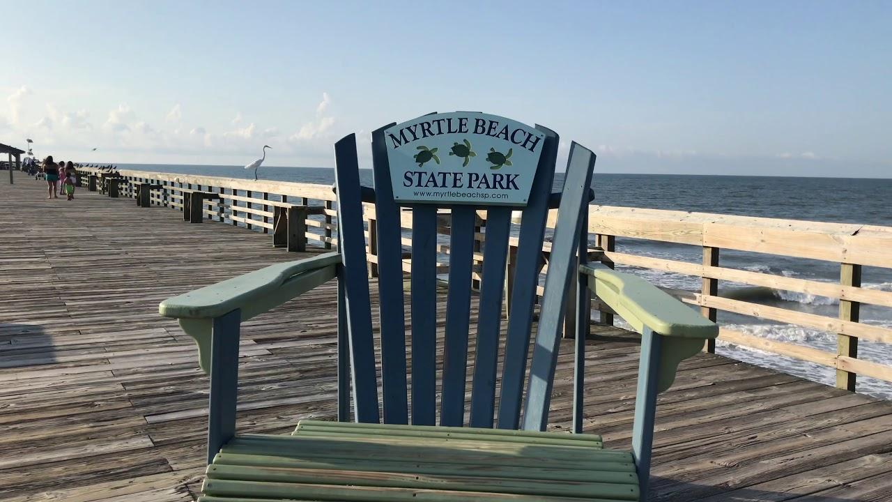 Myrtle Beach State Park Pier August 2017