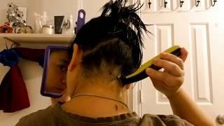 I shaved my hair! | #google #undercut #shave