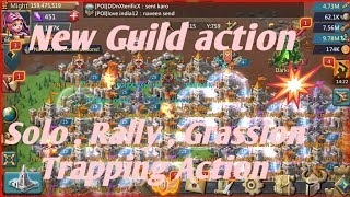 Lords Mobile New guild action Solo, rally, trapping action |Grassion Trap|Lords mobile trap