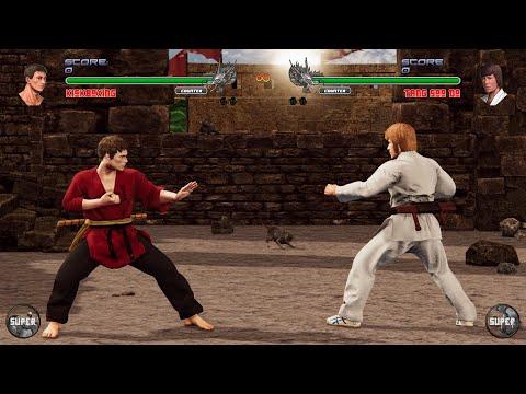 Shaolin vs Wutang 2 : Van Dam vs Chuck Norris (Hardest CPU) |