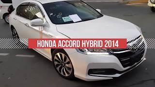 HONDA ACCORD HYBRID 2014 для нашего клиента, Джапан стар отзывы